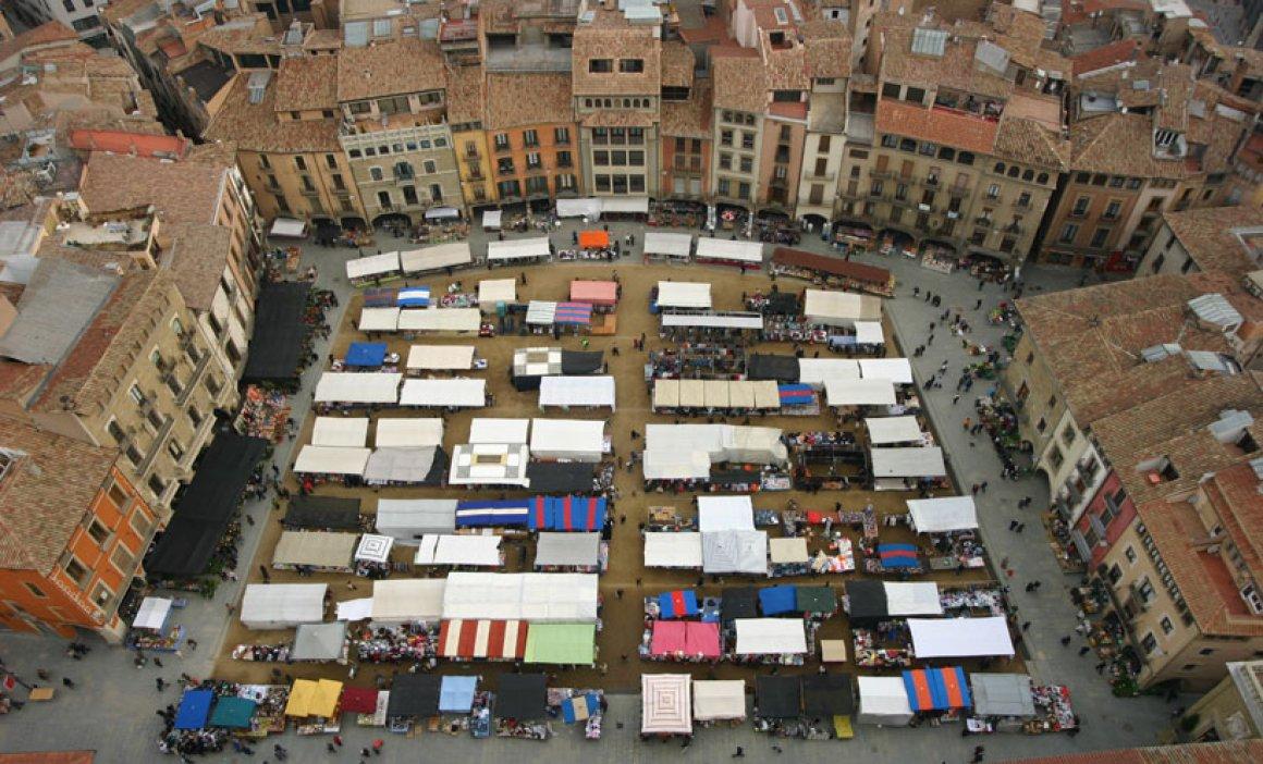 Zona de vol: Plana de Vic des de la ciutat de Vic (Osona - Barcelona)