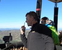 Globus Kon-Tiki obre ruta per la Serra del Montsec