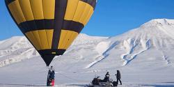 Globus Kon-Tiki se'n va a l'oceà Glacial Àrtic, en l'expedició aerostàtica amb passatgers més propera al Pol Nord que s'ha fet mai