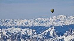 Vol travessa Dolomites