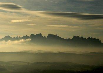 Vols en globus des de Montserrat