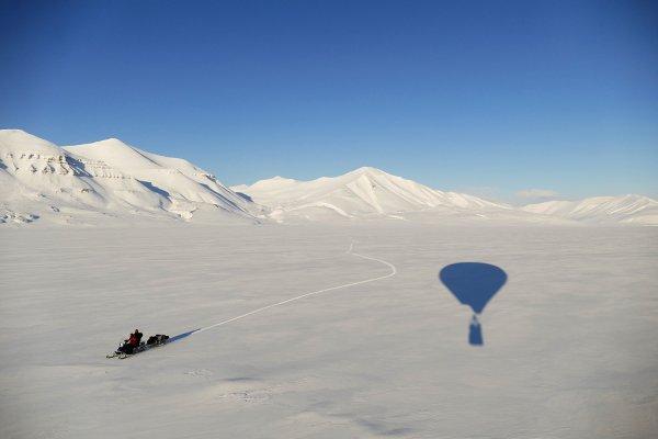 Globus Kon-Tiki a Svalbard