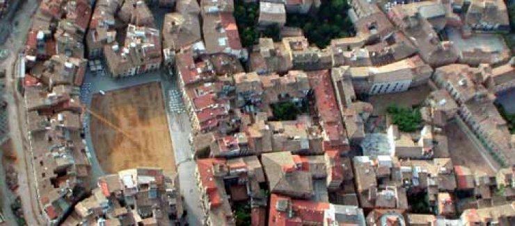 Sobrevolant en globus la comarca de l'Osona.
