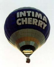 Advertising balloon - Intima Cherry