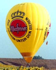 Advertising balloon - Warsteiner