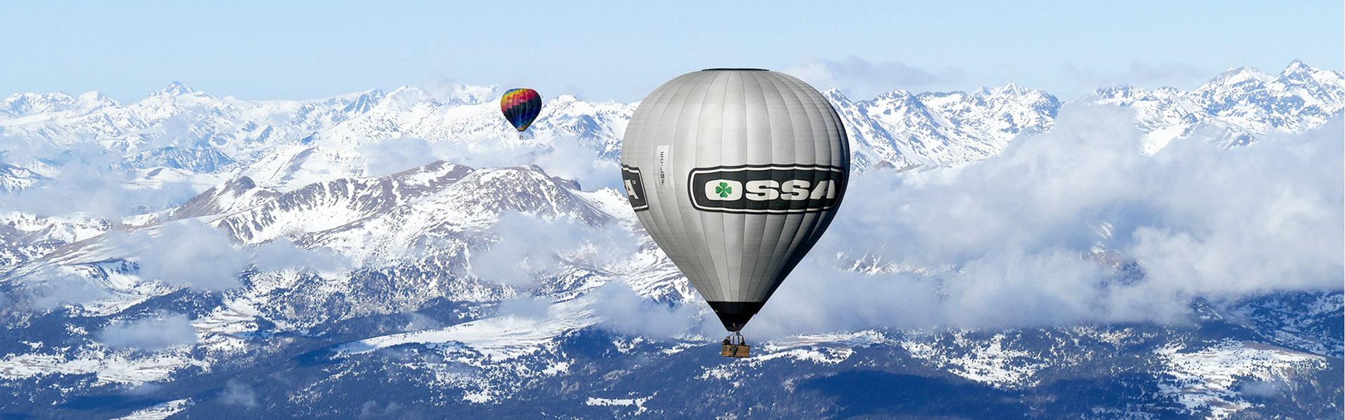 Vol travessa en globus