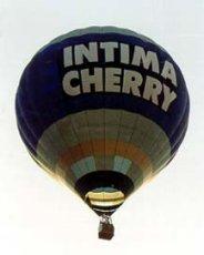 Globo publicitario - Intima Cherry