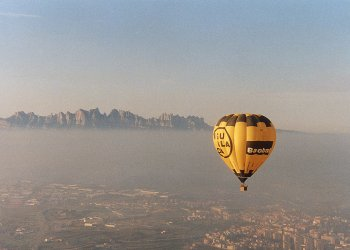 Zona de vuelo: Montserrat desde el Pla de Bages (Bages - Barcelona