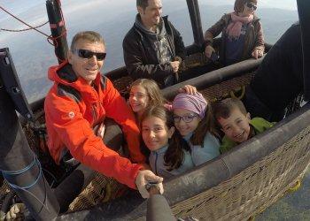 Vuelos familiares en globo