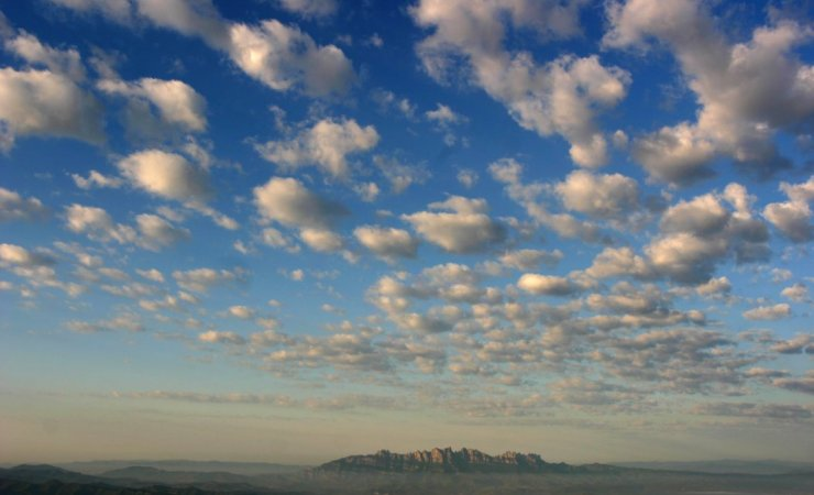 Zona de vuelo: Montserrat desde el Pla de Bages (Bages - Barcelona)