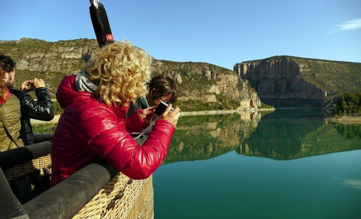 Travessa vol en globus Montsec i Mont-rebei