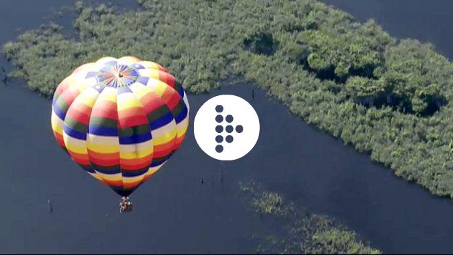Globus Kon-Tiki amb Jesús Calleja a l'Amazones