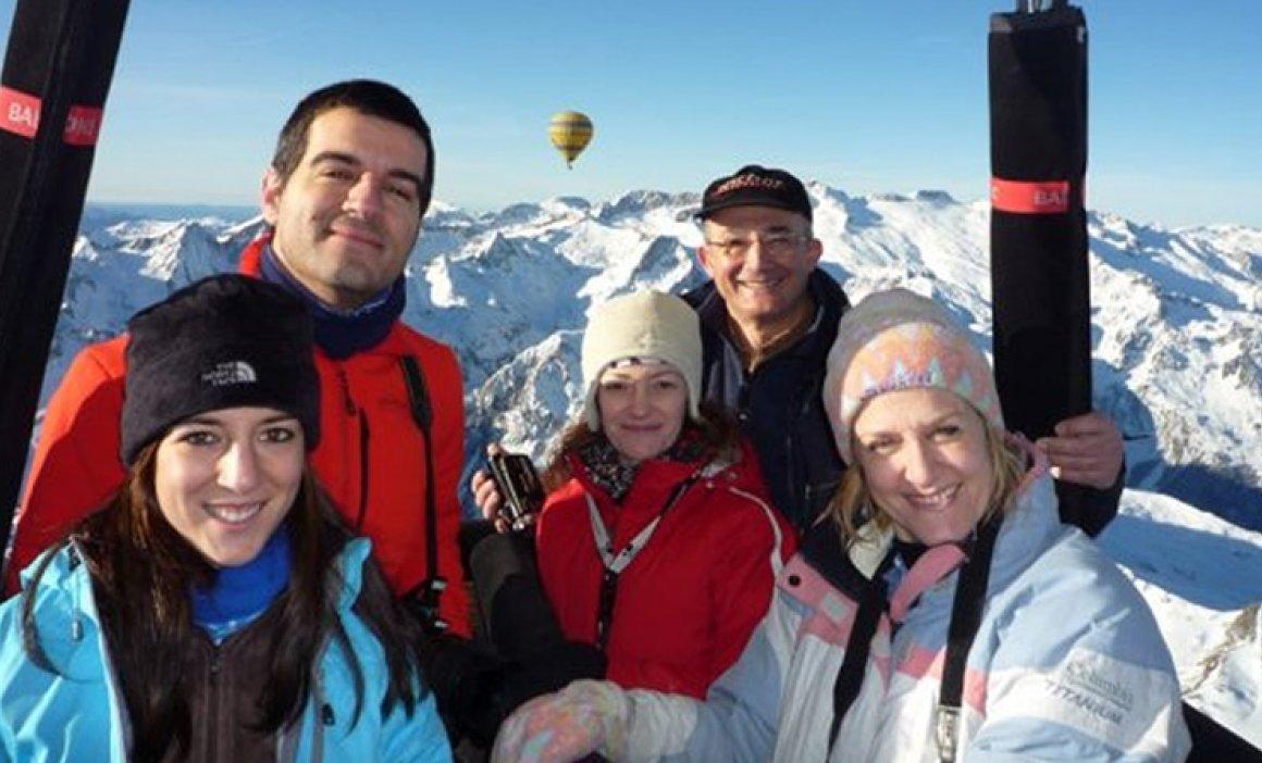 Vol en globus Gan Travessa Pirineu Occidental