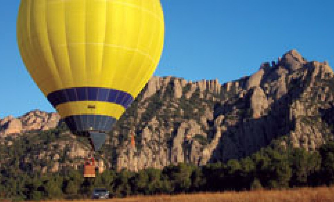 Montserrat en globus