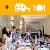 EXTRA OPTIONS: catalan déjeuner dans un restaurant, degustation du cava