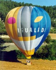 Advertising balloon - Igualada city