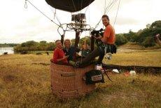 Àngel Aguirre amb Jesús Calleja i equip filmació