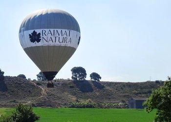 Balloon flight Raimat Natura