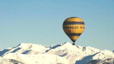 Aventure en montgolfière