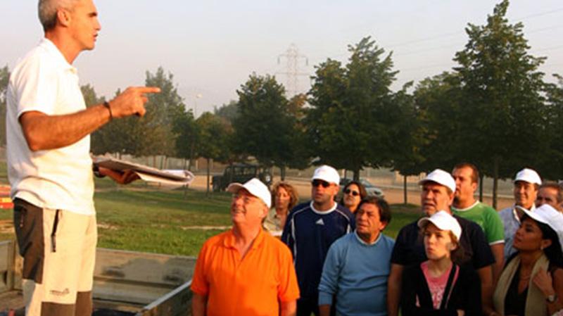 Balloon flight for team building