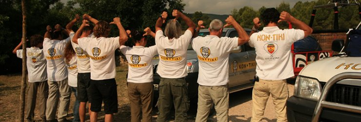 Kon-Tiki team at EBF 2009
