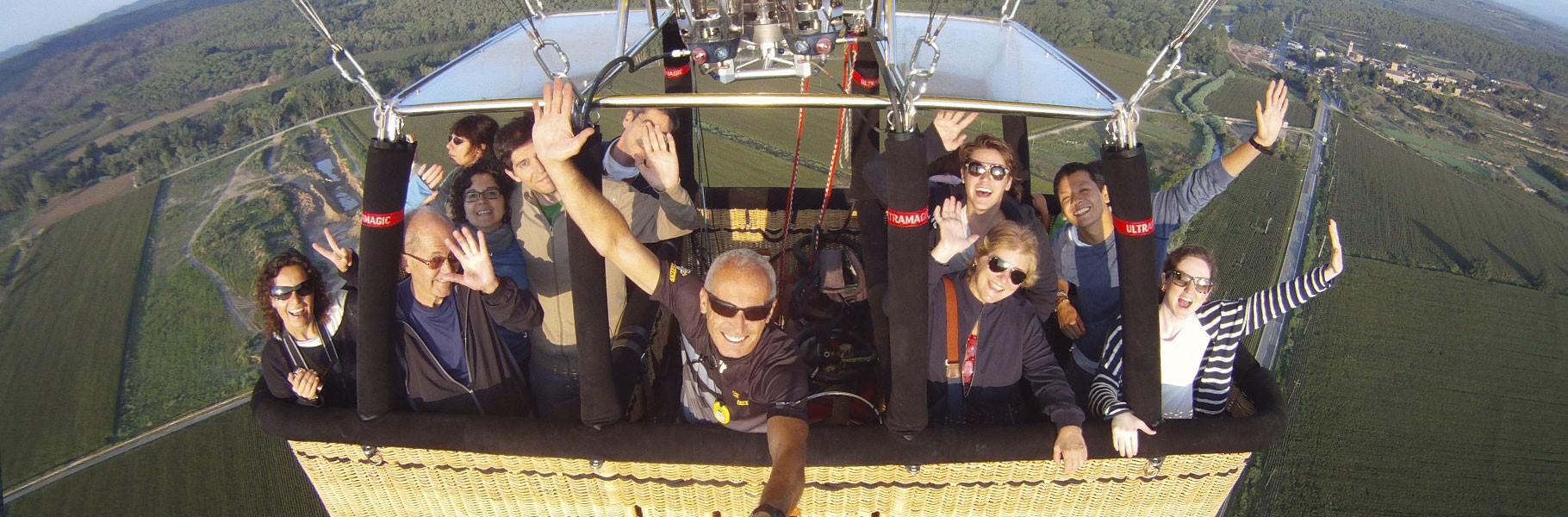 Descubre la experiencia de volar en globo