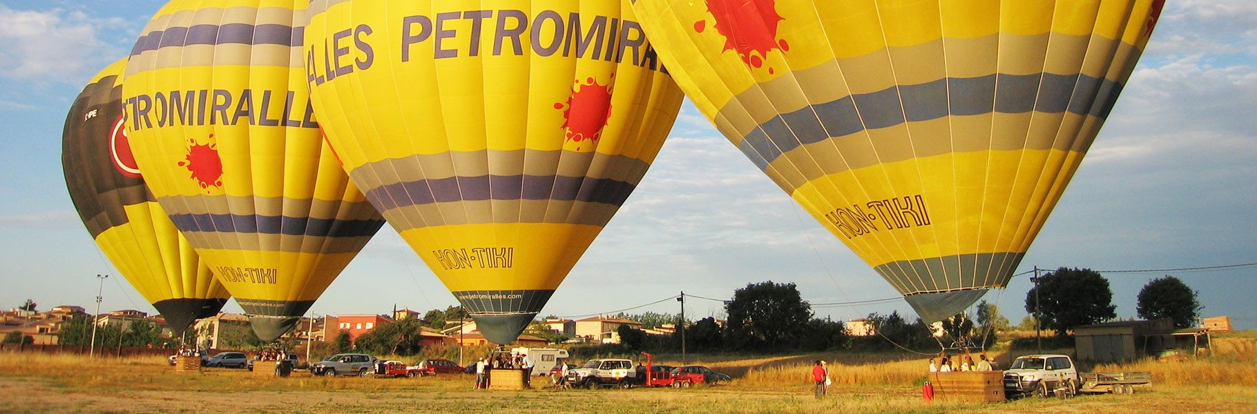 Incentive balloon flights for companies